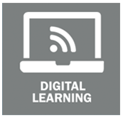Digital learning purple service area